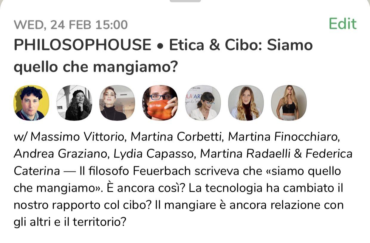 Philosophouse. Su ClubHouse